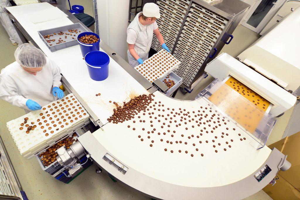 Pralinenherstellung Lebensmittelindustrie